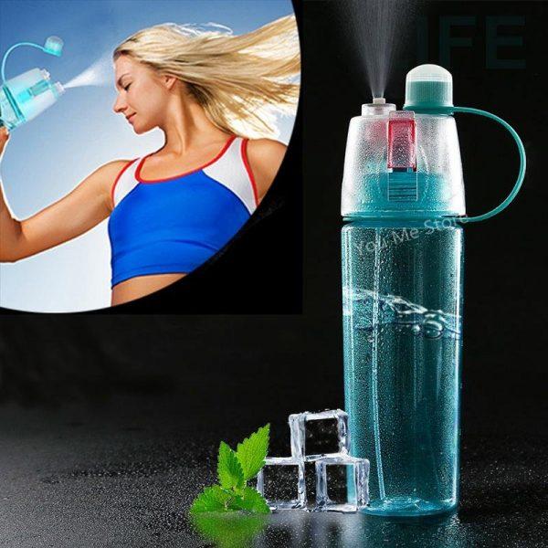 Бутылка для воды со спреем