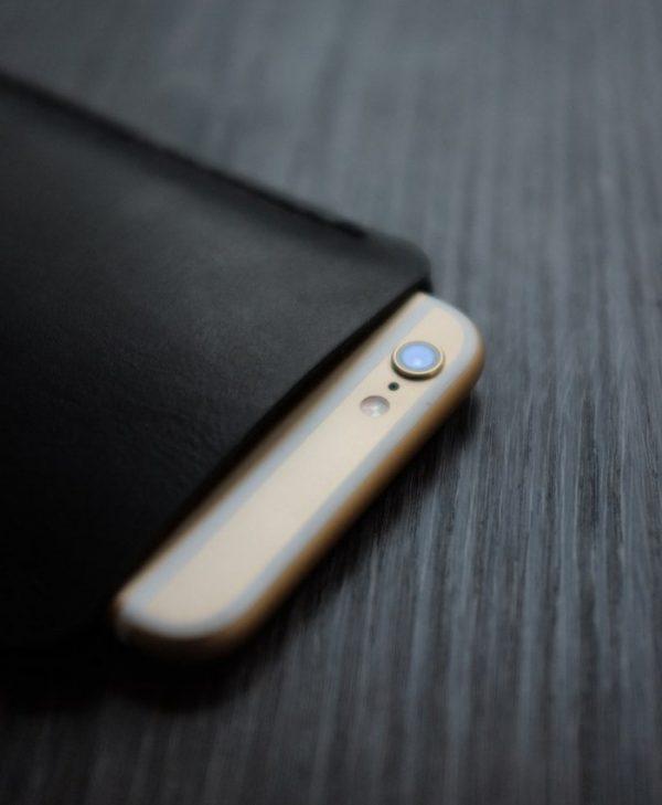 Чехол из кожи для телефона