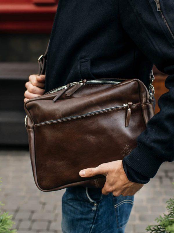 Кожаная сумка «Oslo»