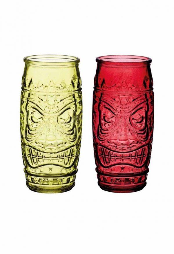 Цветные коктейльные стаканы для напитков BarCraft