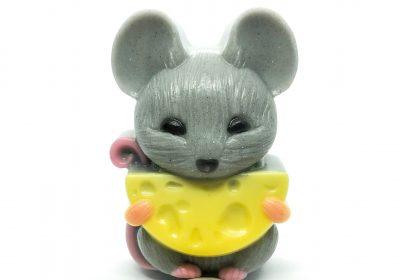 Мыло подарочное «Мышка с сыром»
