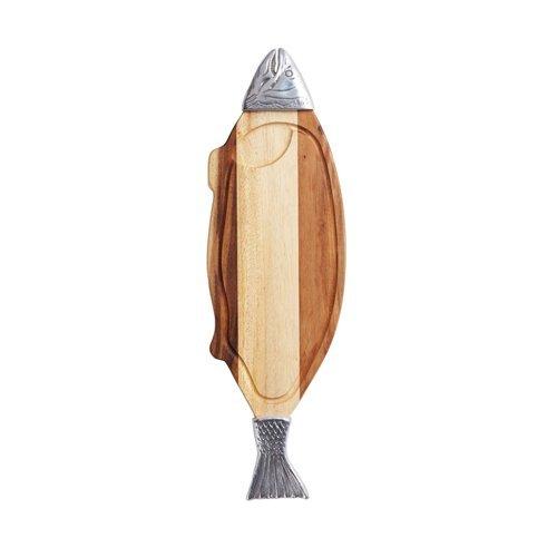 Деревянная доска для подачи рыбы KitchenCraft