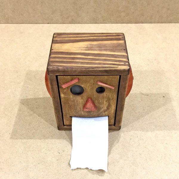 Держатель для туалетной бумаги «Джон Сильвер» коричневый