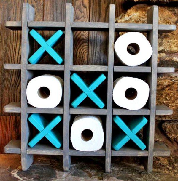 Органайзер для туалетной бумаги «Оксиджен» морион-блю