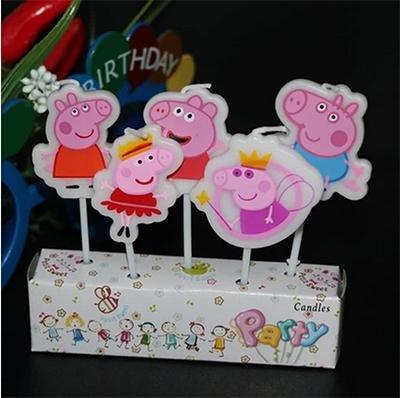 Детские свечи «Свинка Пеппа»