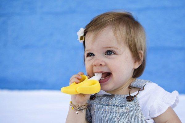 Детский прорезыватель для зубов «Банан»