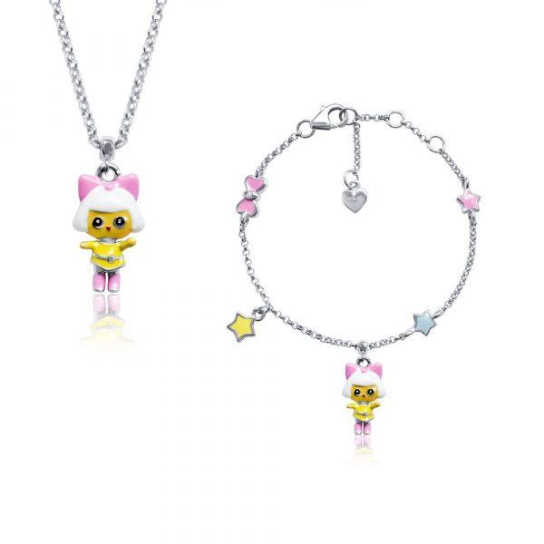 Детское колье UMa&UMi «Dolls Пинки»