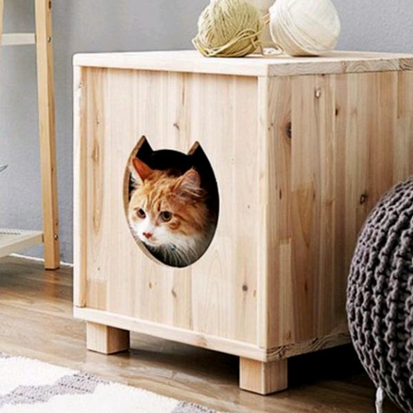 Домик для кошки «Барса» бланже