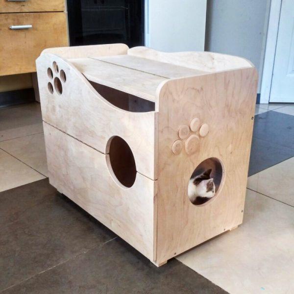 Домик для кошки «Вальтер» бланже