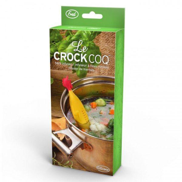 Емкость для заваривания специй погружная «Le Crock Coq Chicken» Fred and Friends
