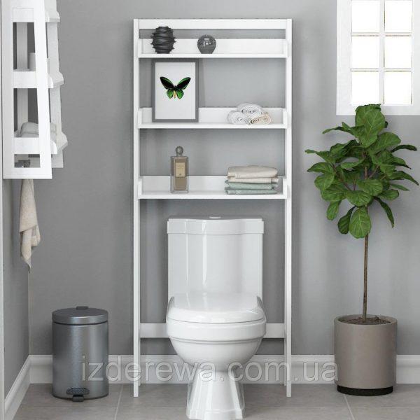 Этажерка для ванной «Дендера» зефир