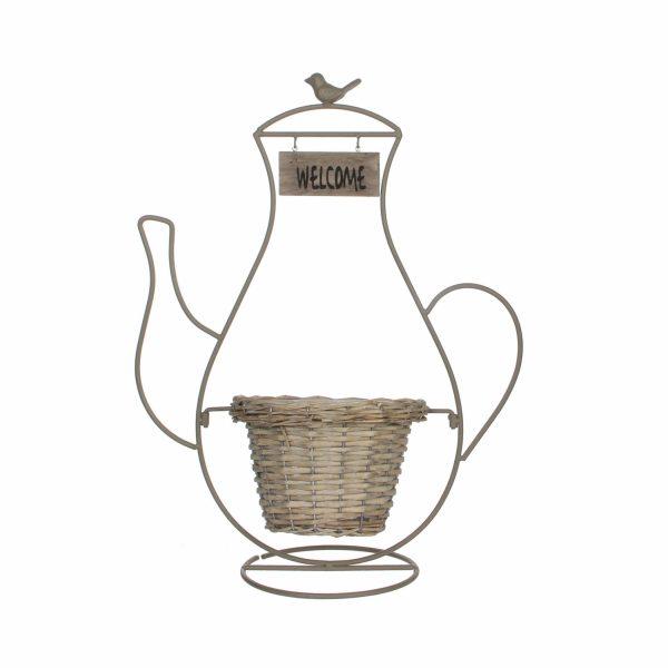 Горшок декоративный «Чайник»