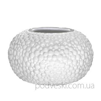 Керамическая белая ваза «Этна» 0303W