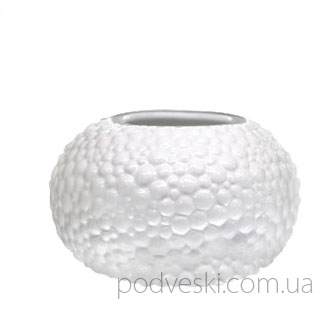 Керамическая белая ваза «Этна» 0505W