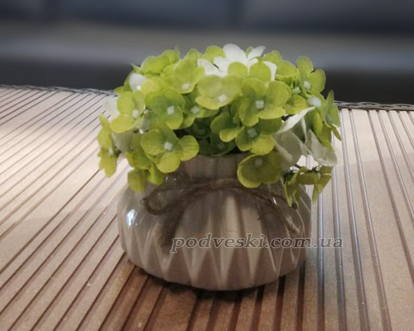 Керамическая ваза белая Eterna