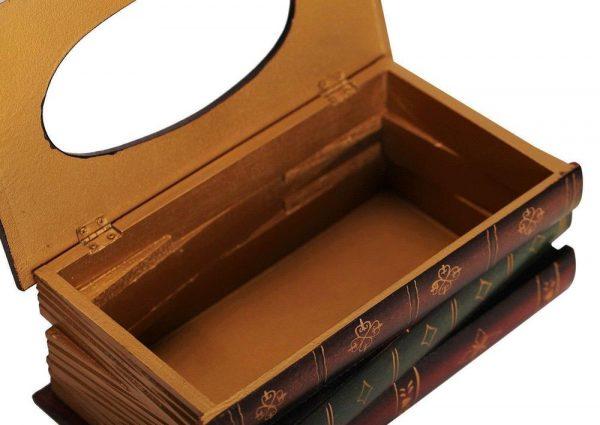 Коробка для салфеток «Книги»
