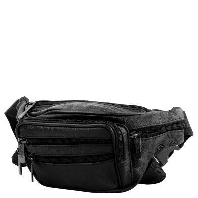 Кожаная мужская поясная сумка ETERNO (DET7011-2-1)