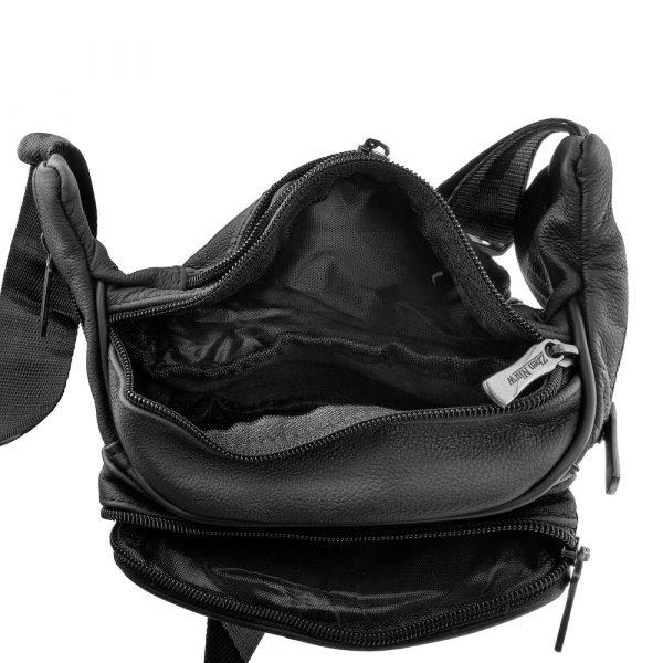 Кожаная мужская поясная сумка ETERNO (DET818-2)