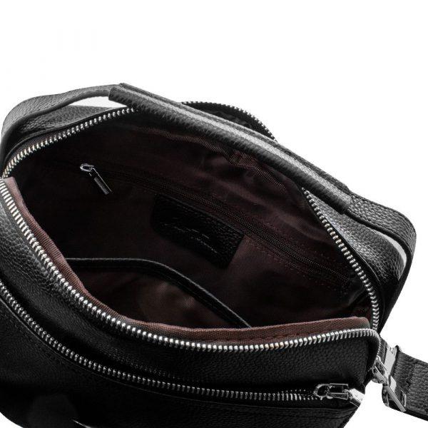 Кожаная мужская сумка VITO TORELLI black