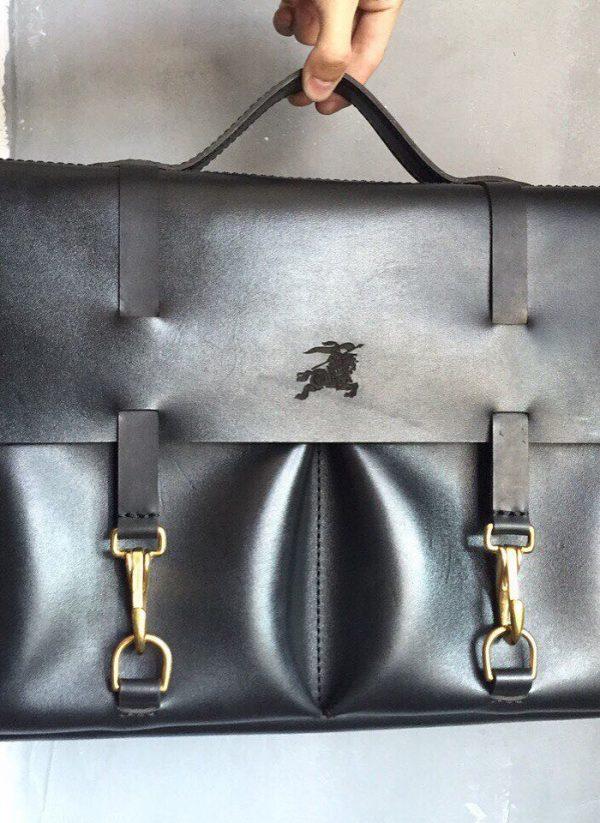 Кожаная сумка «Elegant»