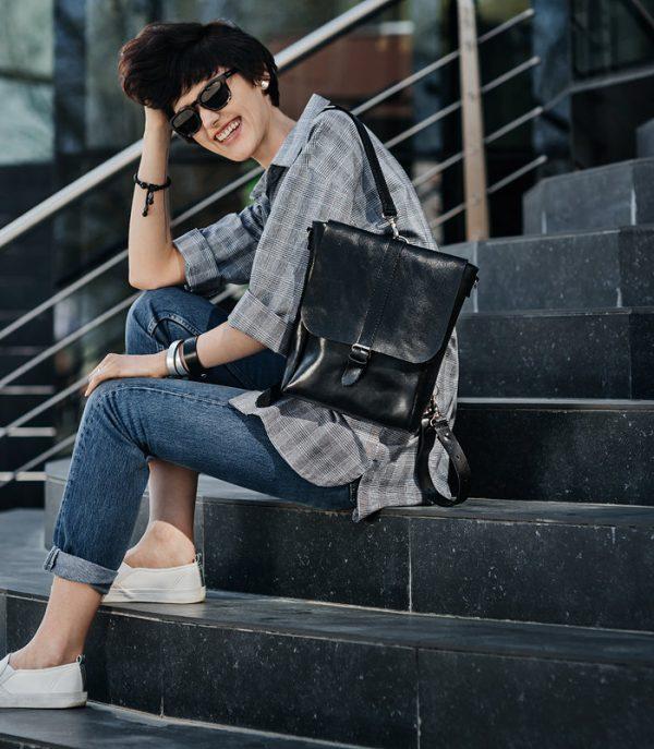 Кожаный рюкзак «Eliar»
