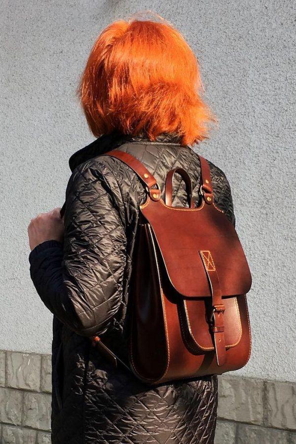 Кожаный рюкзак «Melbourne MAX»