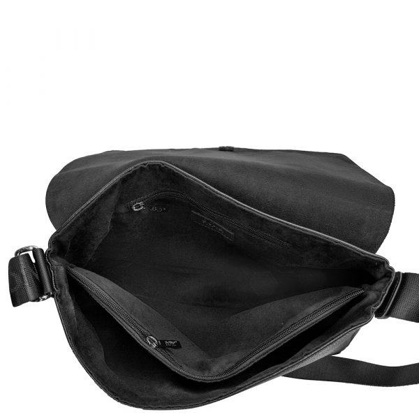 Мужская кожаная сумка-почтальонка BOND (SHI-1123-281-2)