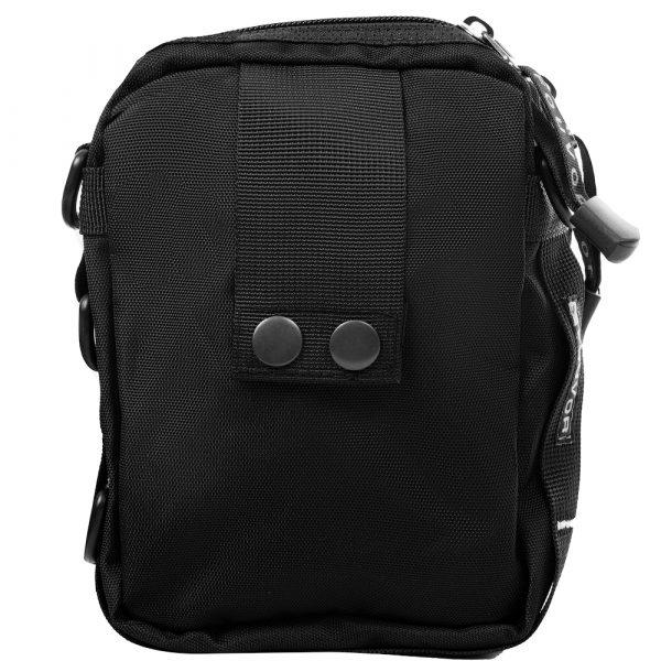 Мужская сумка через плечо или на пояс FOUVOR (black)
