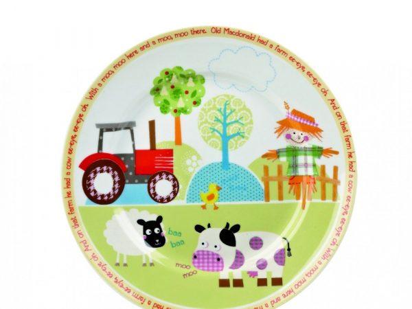 Набор детский Churchill Little Rhymes «Ферма» (4 предмета в подарочной упаковке)