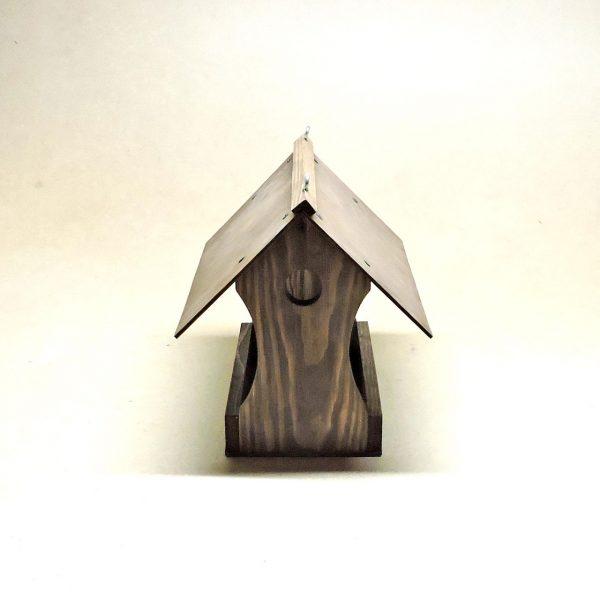 Набор для сборки кормушки садовой для птиц «Иволга» коричневая