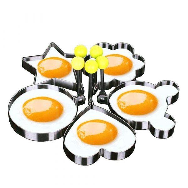 Набор из 5 форм для яичницы