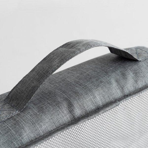 Набор органайзеров для путешественника (7 шт, серый)
