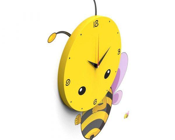 Настенные 3D часы в детскую «Пчелка»