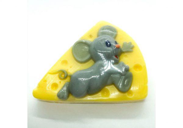 Натуральное мыло «Мышка на сыре»