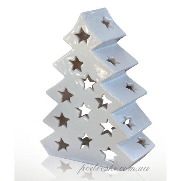 Новогодняя статуэтка-подсвечник «Елка» Eterna (керамика)