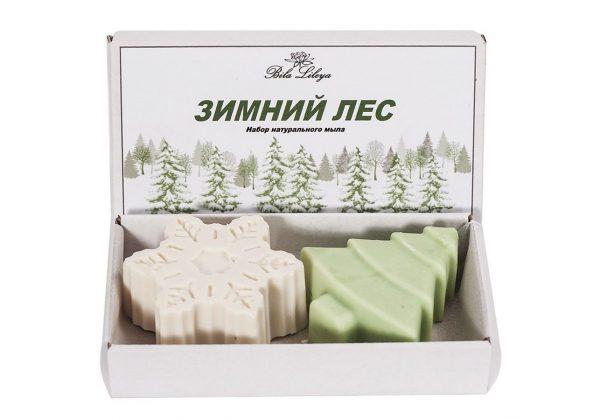Набор мыла Bila Lileya «Зимний лес»