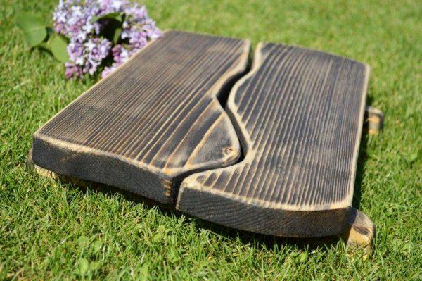 Поднос деревянный «Перувель» мокко