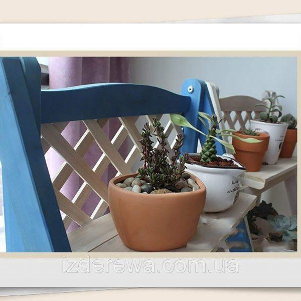 Подставка для цветов «Олива» лагуна