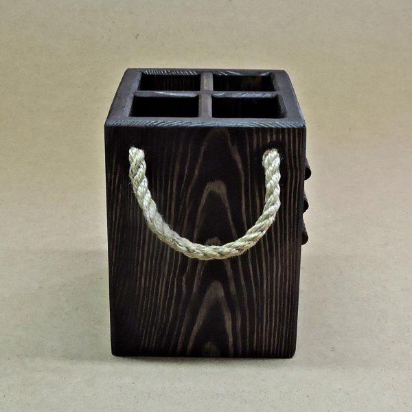 Подставка для столовых приборов «Пиасера» венге