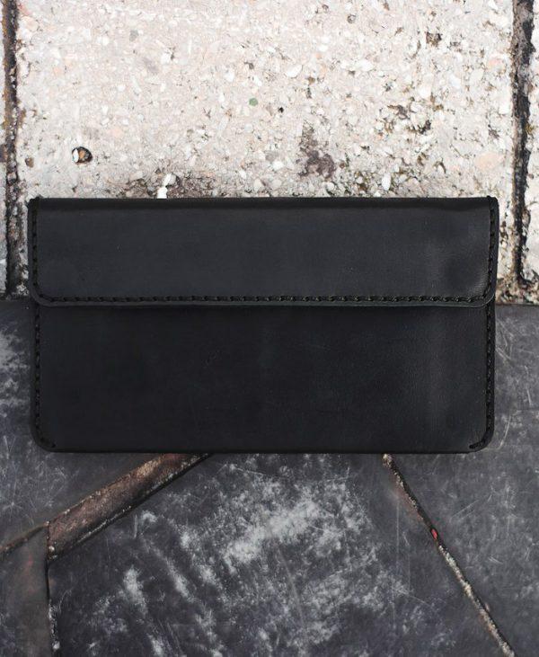Портмоне Double snap long wallet