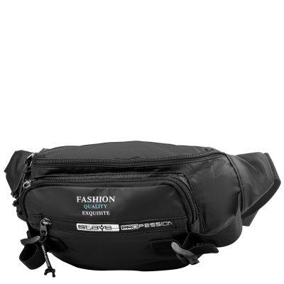 Поясная сумка мужская SKYBOW black