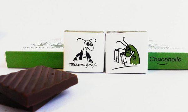 Шоколадный набор Chocoholic «Мои таракашки»