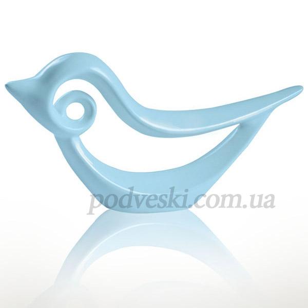 Статуэтка «Птичка» Eterna голубая