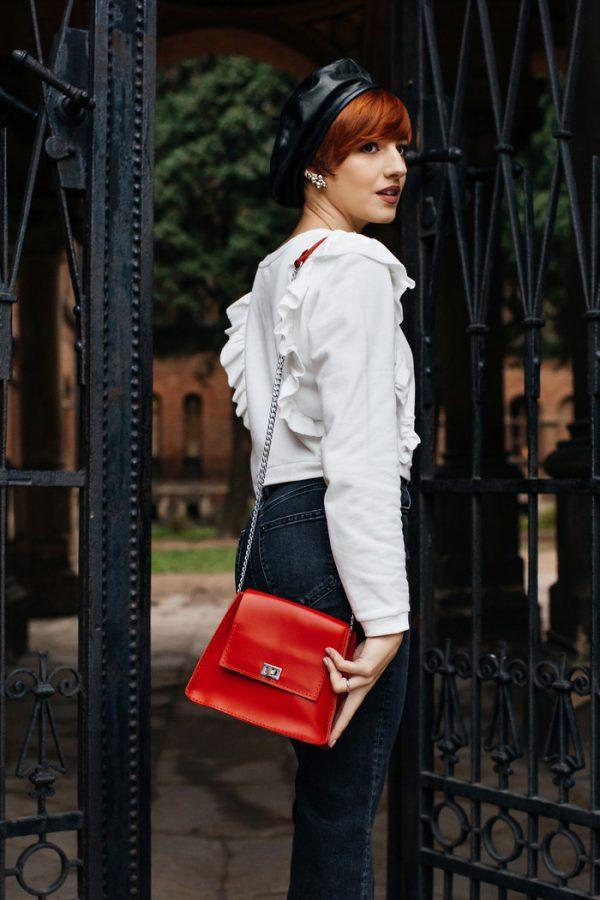 Кожаная сумка «Molly»