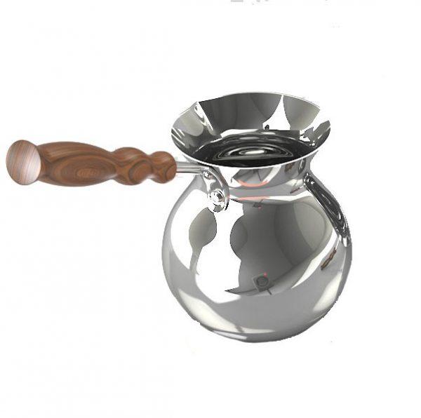Джезва медная з серебряным покрытием (300мл)