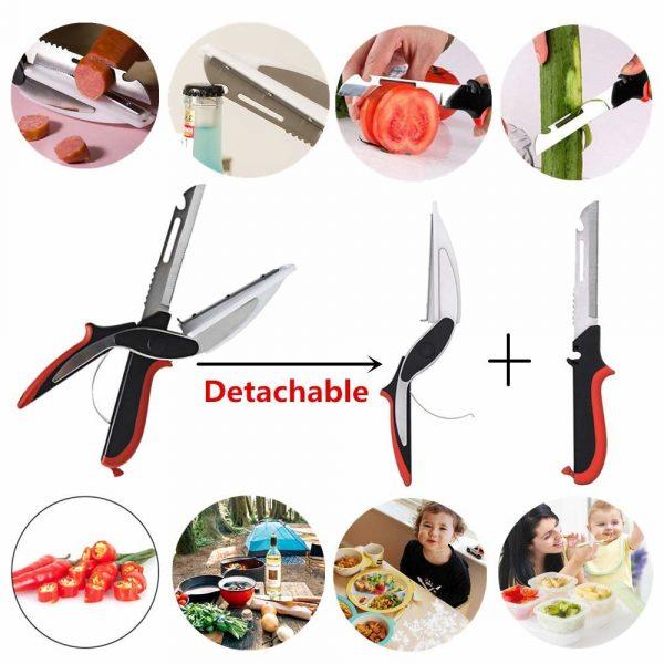 Умный нож Clever Cutter 2 в 1