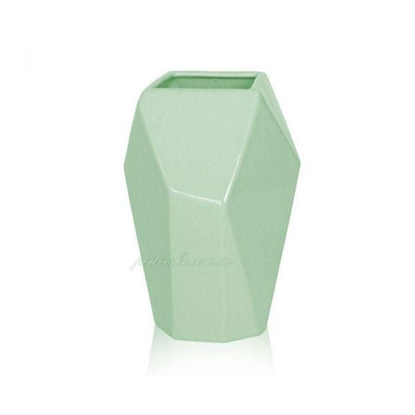 Керамическая ваза «Полигональная» Eterna (Украина)