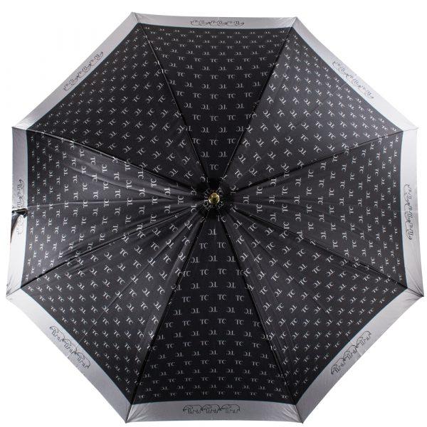 Зонт-трость женский полуавтомат «Три слона»