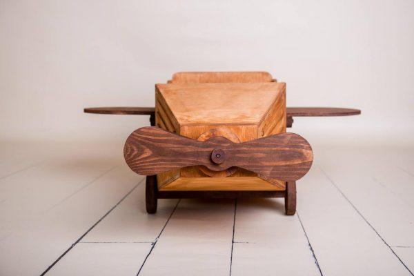 Детская игрушка «Самолёт Карнаж» коричневый