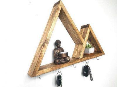 Ключница деревянная «Валентино» ваниль